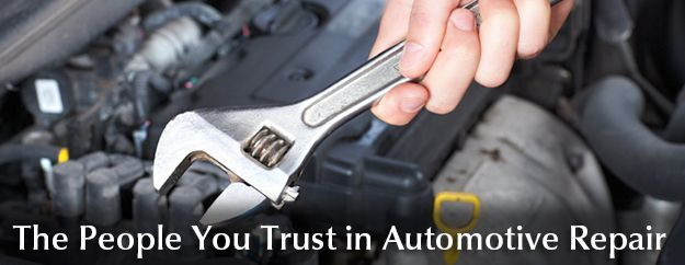 The People You Trust in Automotive Repair - Call Us NOW! | mechanic with wrench